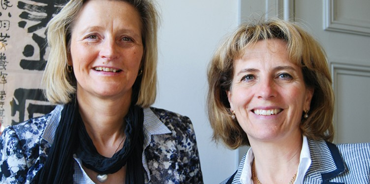 Sonja Meiby och Ingrid Estrada-Magnusson